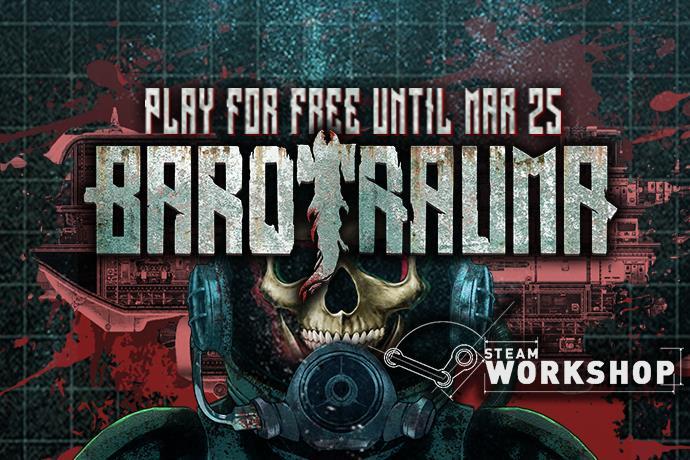 Barotrauma is playable for free