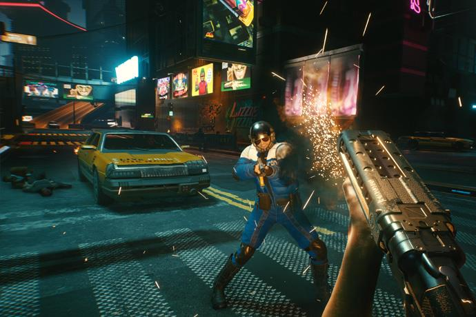 There may be minor in-game errors with the release of Cyberpunk 2077