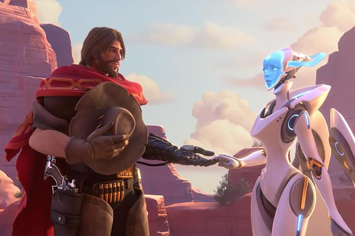 Who is the Hero 32 for Overwatch? Athena or Echo?