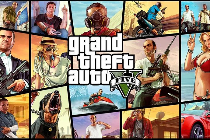 GTA V sold over 1 million copies only in the UK in 2020