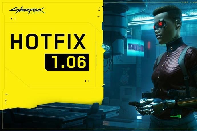 Hotfix 1.06 for Cyberpunk 2077 released