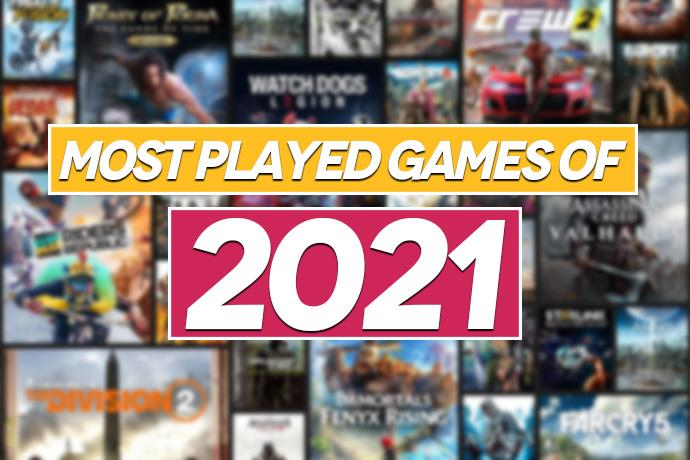 Most played games of 2021