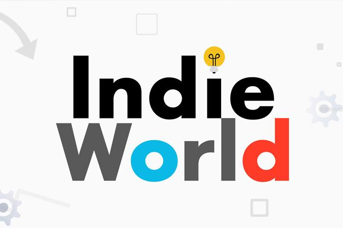 "The presentation of ""Nintendo Indie World"" where indie games for Switch will be announced"
