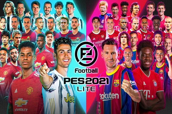 PES 2021 LITE released