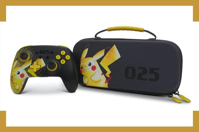 Celebrate 25 years of Pokémon with PowerA's Latest Enhanced Wireless controller and Protective Case