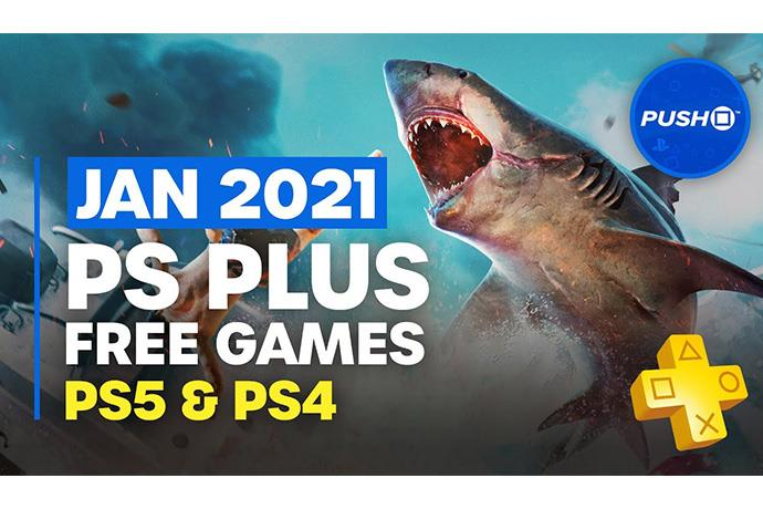 PS Plus January 2021 games available for download
