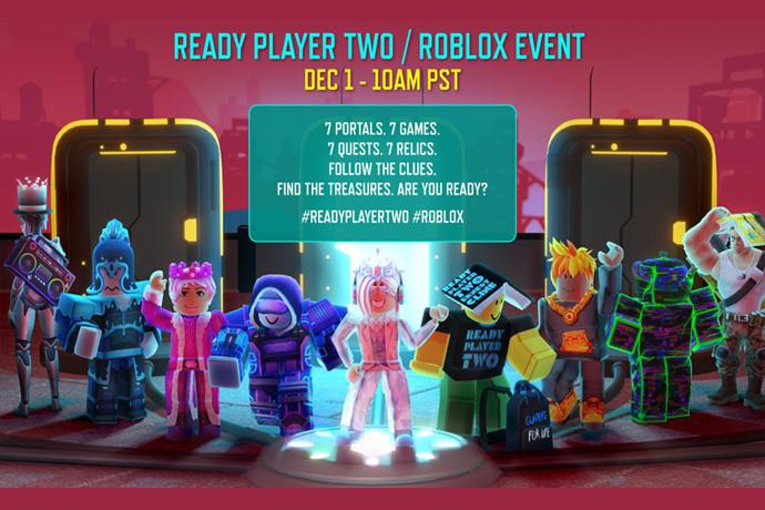 Ready Player Two event will be held on the internet