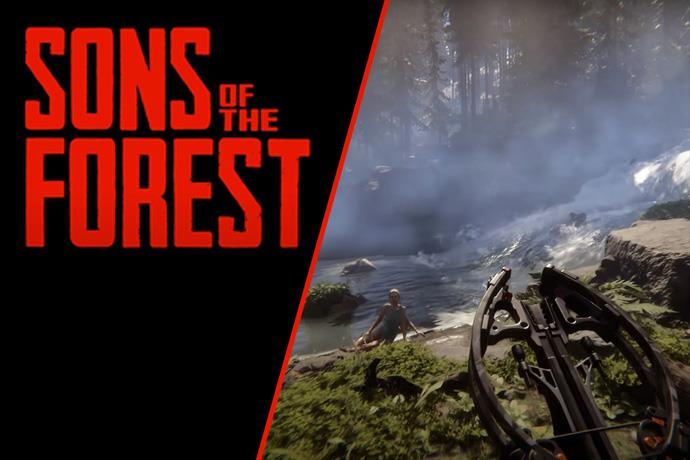 A new trailer of The Forest's sequel Sons of The Forest