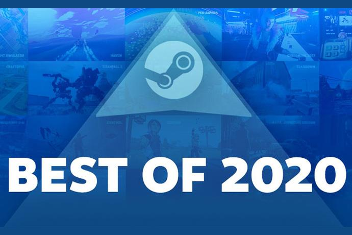 2020's best selling games announced on Steam