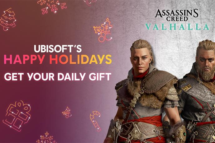 Ubisoft will give a gift every day between 14 and 18 December