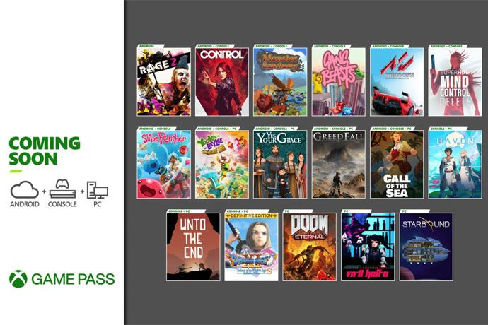 Games to be added to Xbox Game Pass in December have been announced