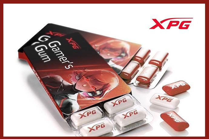 Gaming gum comes from XPG: XPG Gaming Gum